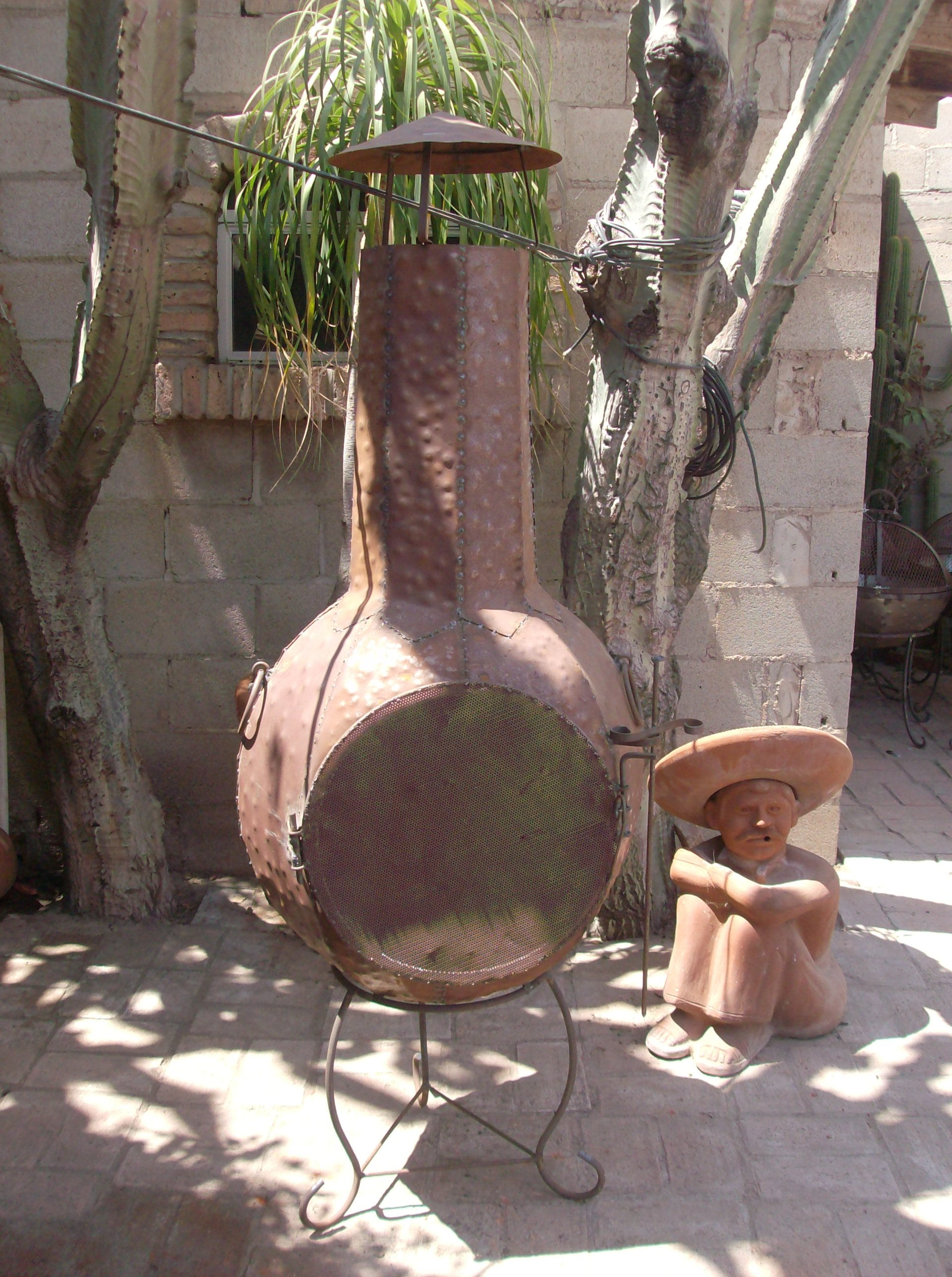 Baja Chimney - Little Baja - Finest Terra Cotta Fireplace