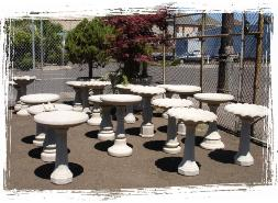 Click to see our bird baths